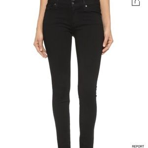 James Jeans Twiggy mid rise Black Skinny